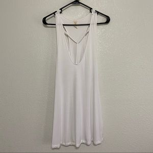 We The Free long flowy white tank top size Large